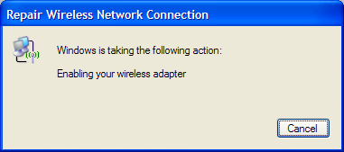 Enabling your Wireless Adapter