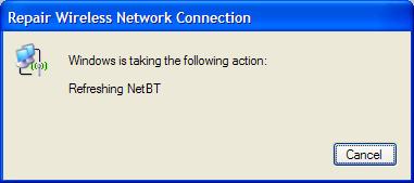 Refreshing NetBT