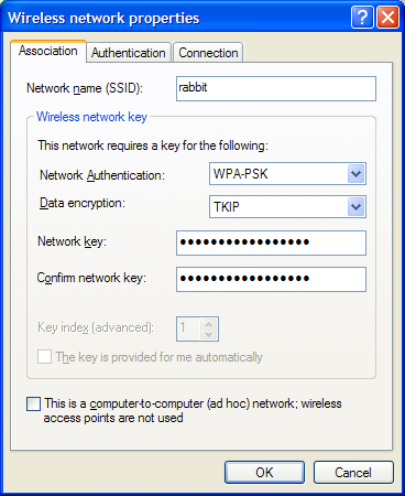 Add Wireless Network